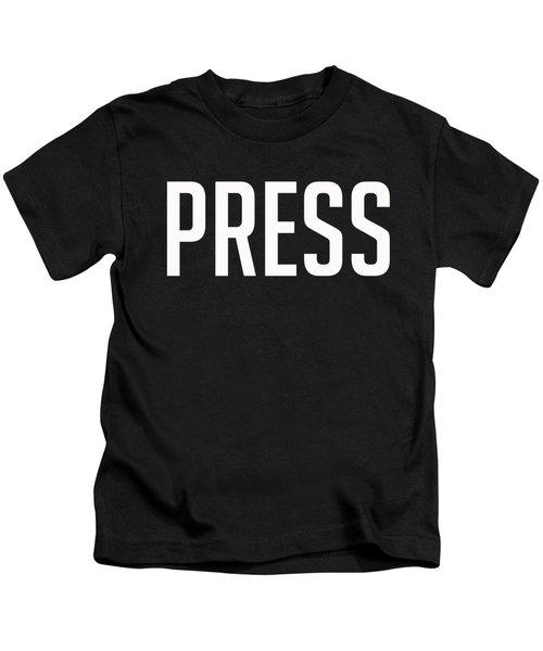 Press Tee Kids T-Shirt