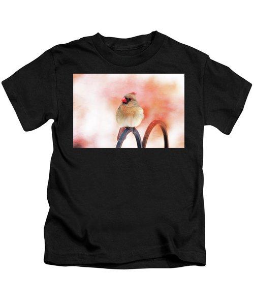 Pretty Cardinal Kids T-Shirt