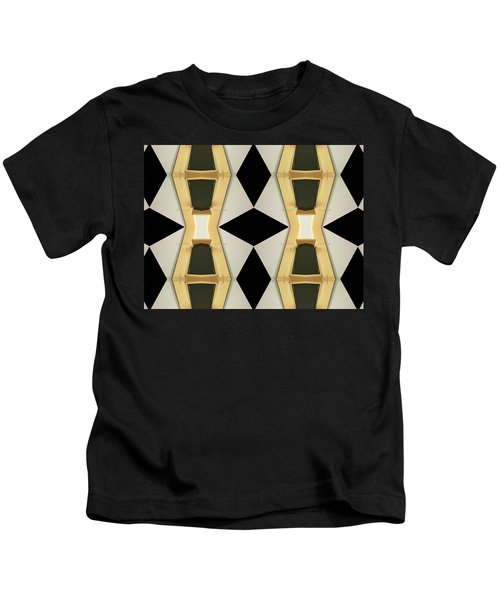 Primitive Graphic Structure Kids T-Shirt