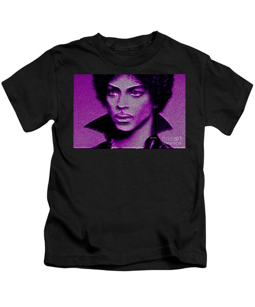 Prince - Tribute In Purple Kids T-Shirt