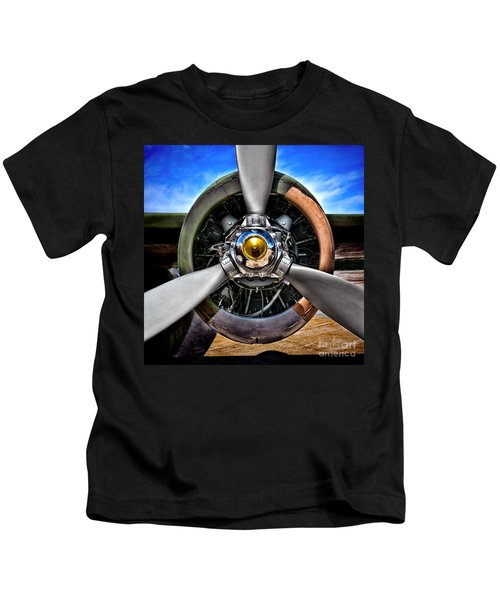 Propeller Art   Kids T-Shirt