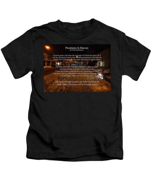 Prostitutes In Heaven Kids T-Shirt