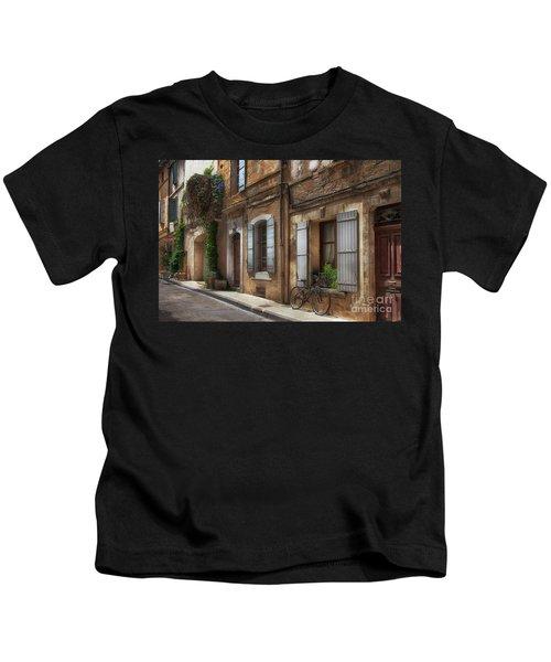 Provence Street Scene Kids T-Shirt