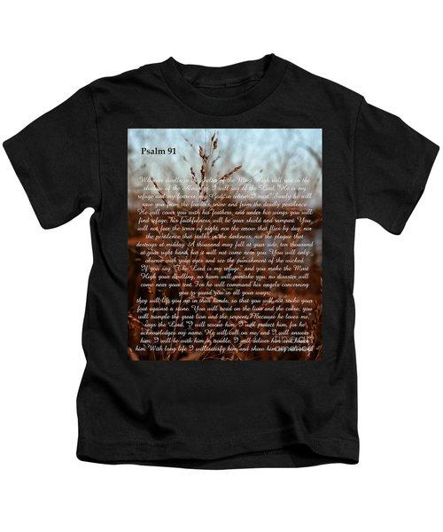 Psalm 91 Kids T-Shirt
