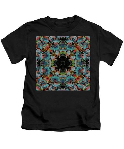 Psychedelic Daisies Kids T-Shirt