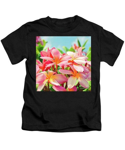 Pua Melia Ke Aloha Maui Kids T-Shirt