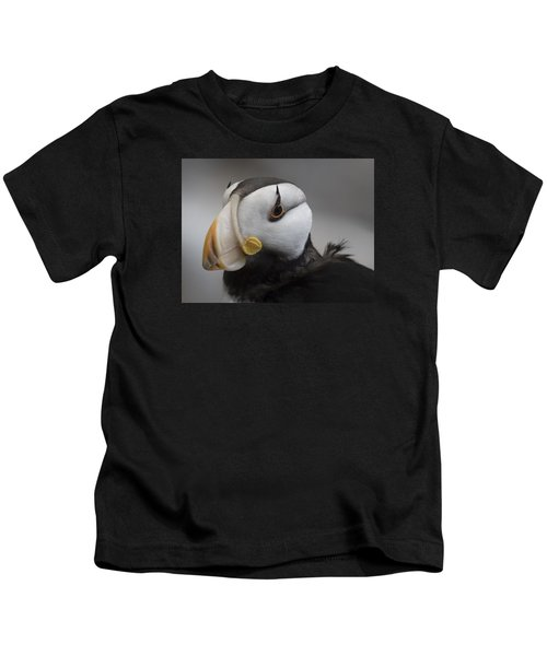 Puffin Portrait Kids T-Shirt