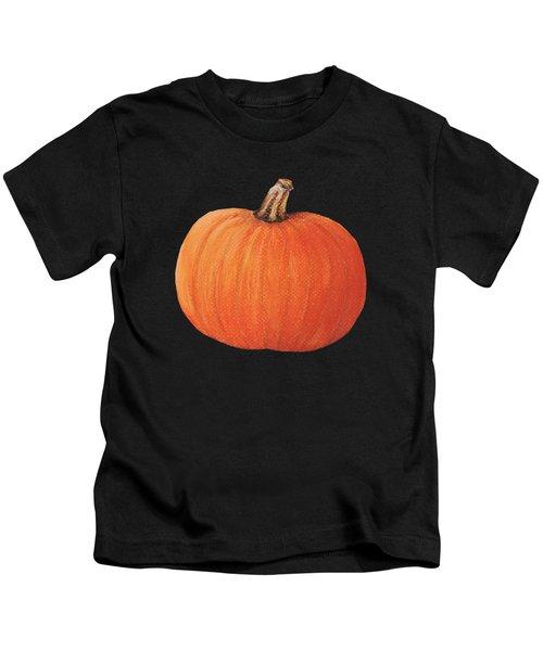 Pumpkin Kids T-Shirt by Anastasiya Malakhova