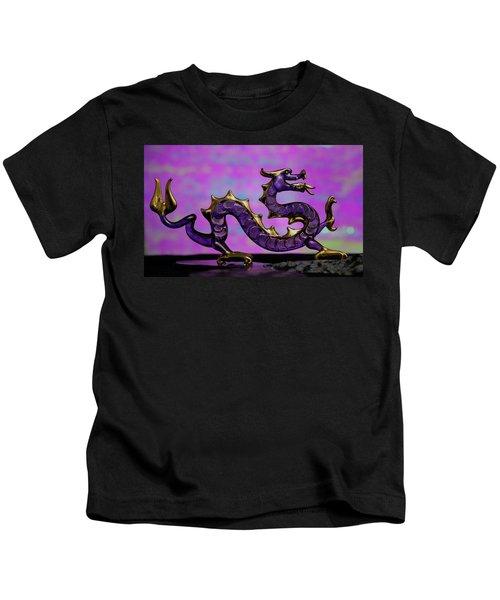 Purple Dragon Kids T-Shirt