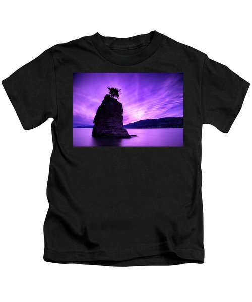 Purple Haze Kids T-Shirt