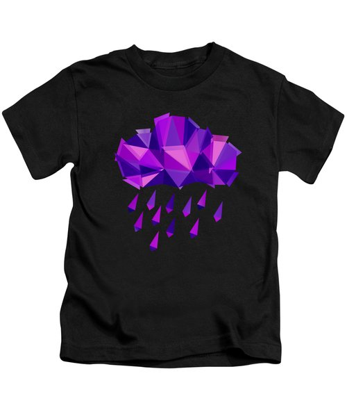 Purple Rain Kids T-Shirt