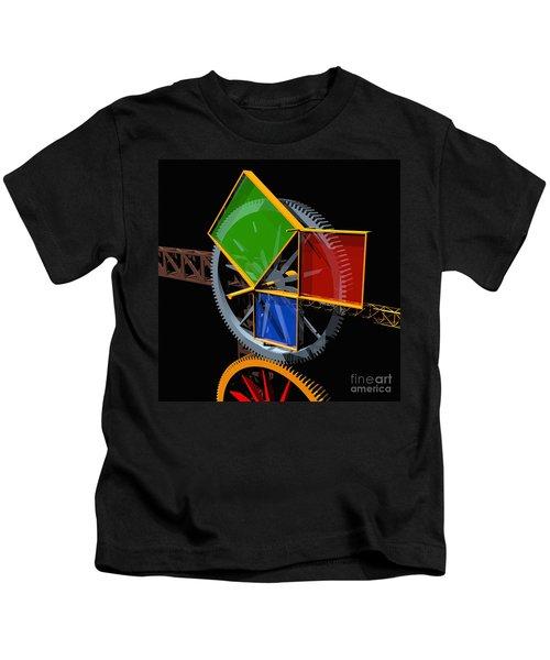 Pythagorean Machine Kids T-Shirt