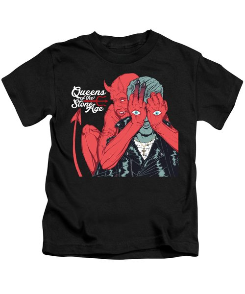 Queens Of The Stone Age Kids T-Shirt