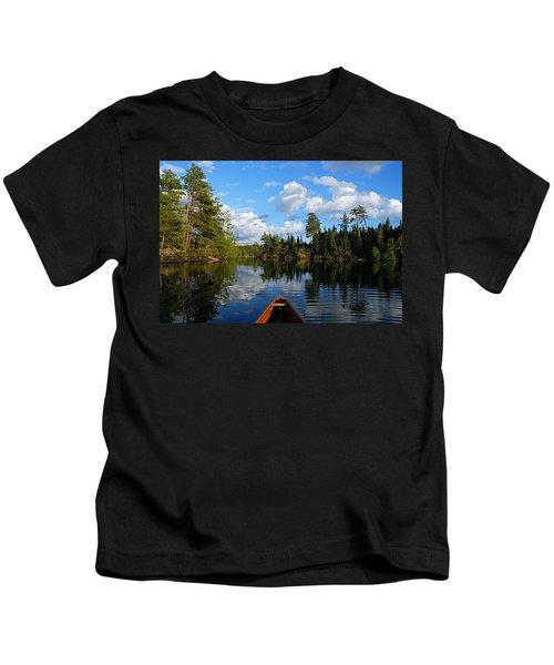 Quiet Paddle Kids T-Shirt