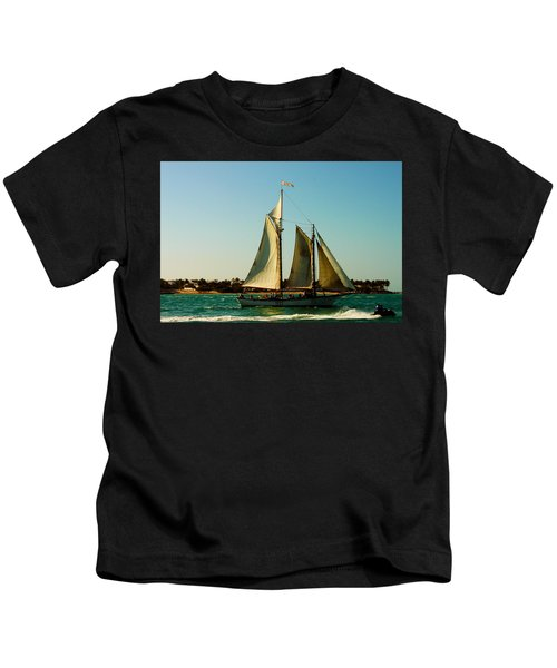 Racing The Wind Kids T-Shirt