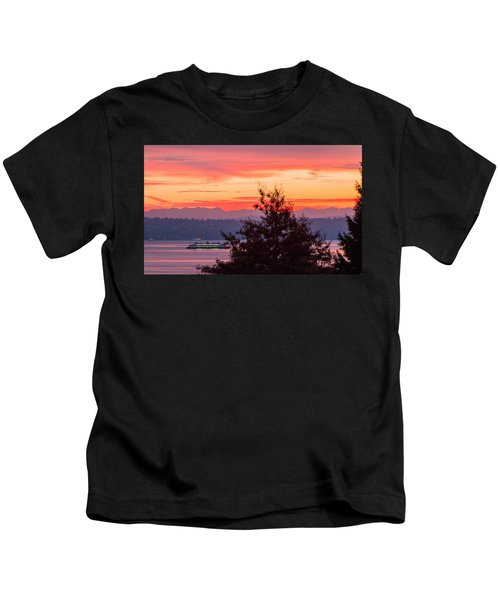 Radiance At Sunrise Kids T-Shirt