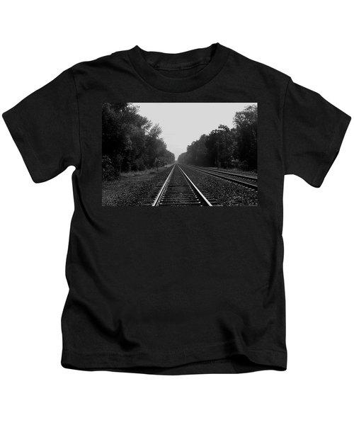 Railroad To Nowhere Kids T-Shirt