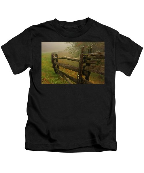 Rails Of Time Kids T-Shirt