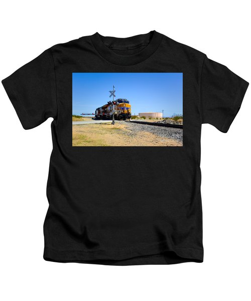Railway Crossing Kids T-Shirt