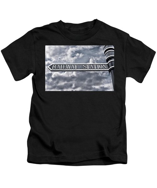 Railway Station Kids T-Shirt