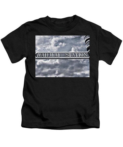 Railway Station Kids T-Shirt