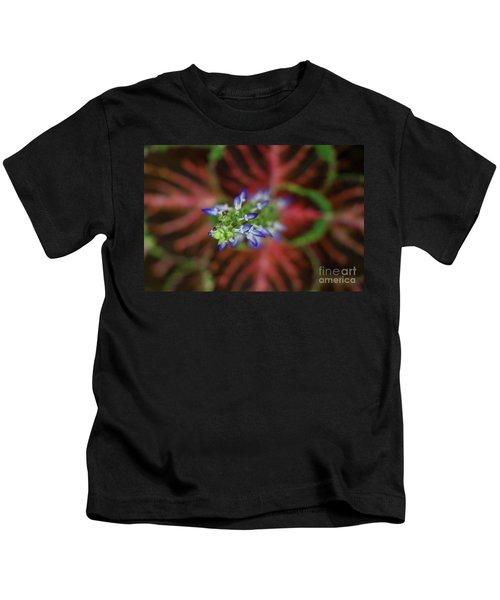 Rainbow Coleus Kids T-Shirt