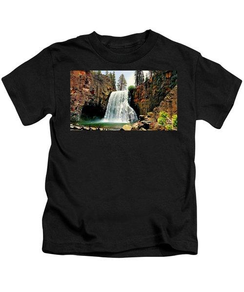 Rainbow Falls 8 Kids T-Shirt