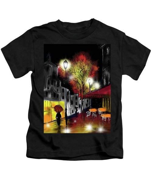 Raining And Color Kids T-Shirt