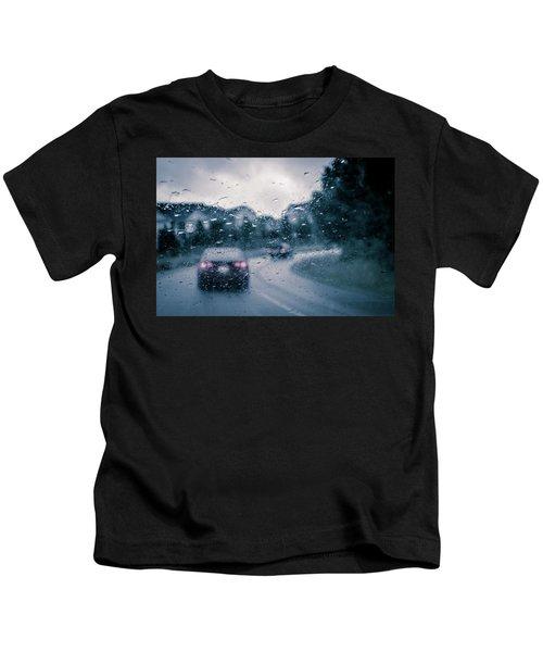 Rainy Day In June Kids T-Shirt
