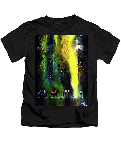 Rainy Evening Kids T-Shirt