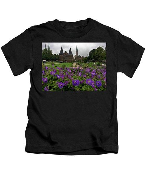 Rainy Luebeck Is Beautiful Kids T-Shirt