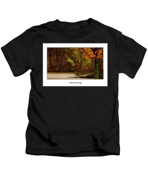 Rainy Morning Kids T-Shirt