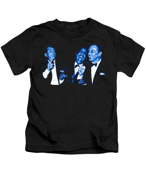 Rat Pack At Carnegie Hall Kids T-Shirt