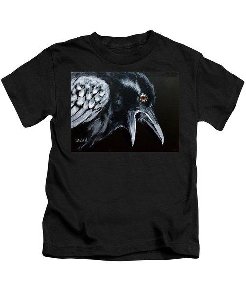 Raven Complaining Kids T-Shirt