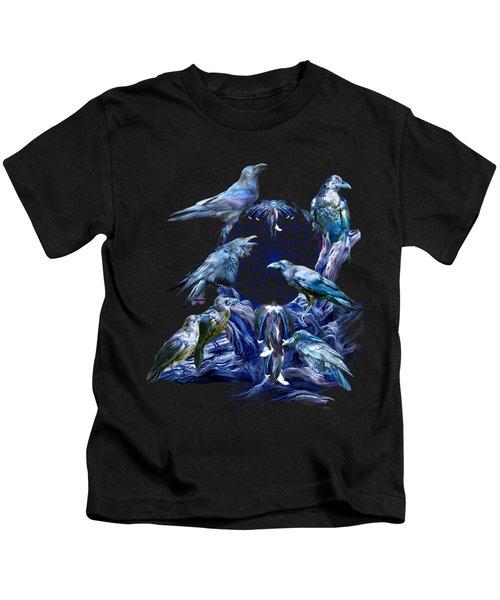 Raven Dreams Kids T-Shirt
