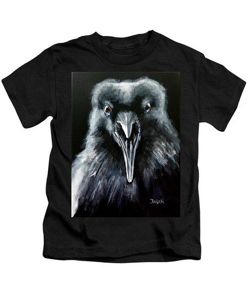 Raven Squawk Kids T-Shirt