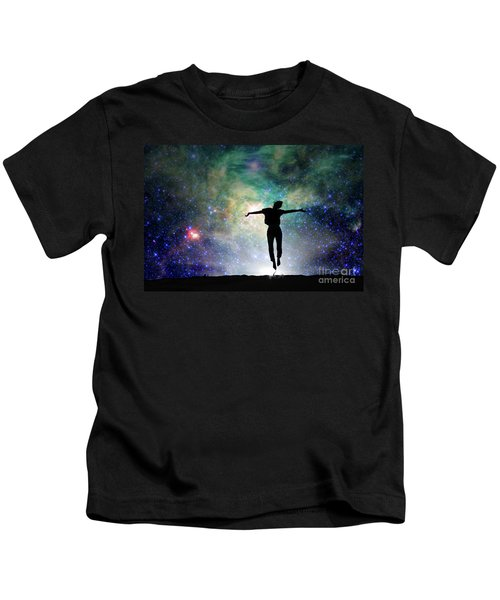 Reach For The Stars Kids T-Shirt