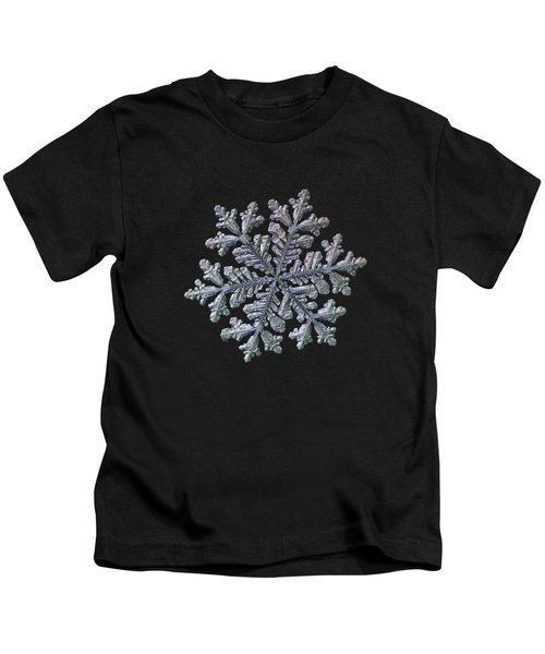 Real Snowflake - Hyperion Black Kids T-Shirt
