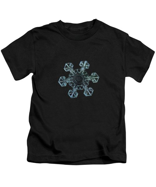 Real Snowflake - Ice Crown New Kids T-Shirt