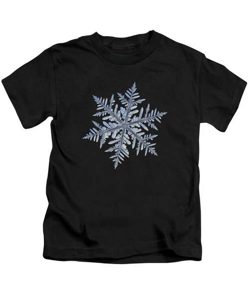 Real Snowflake - Silverware Black Kids T-Shirt