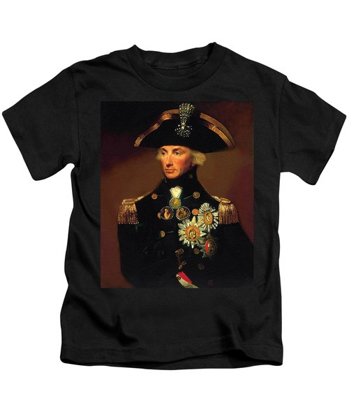 Rear- Admiral Lord Horatio Nelson - 1758-1805 After L F Abbott. P B Kids T-Shirt