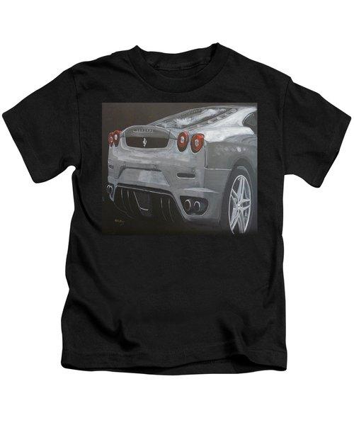 Rear Ferrari F430 Kids T-Shirt