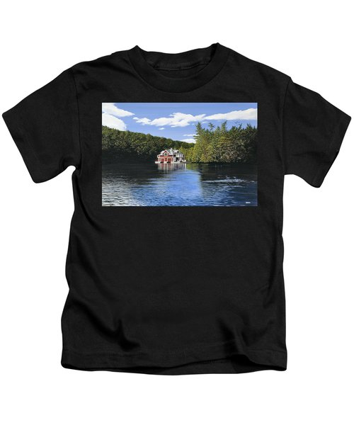 Red Boathouse Kids T-Shirt
