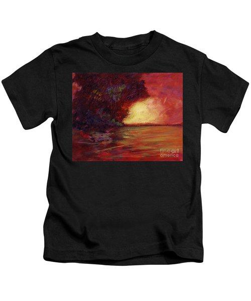 Red Dusk Kids T-Shirt
