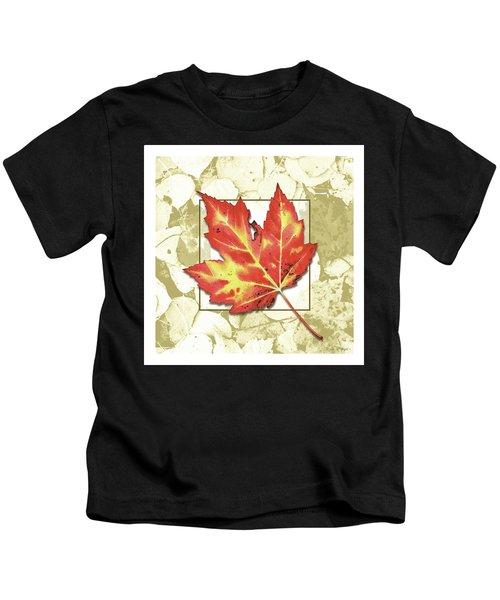 Red Fall Kids T-Shirt