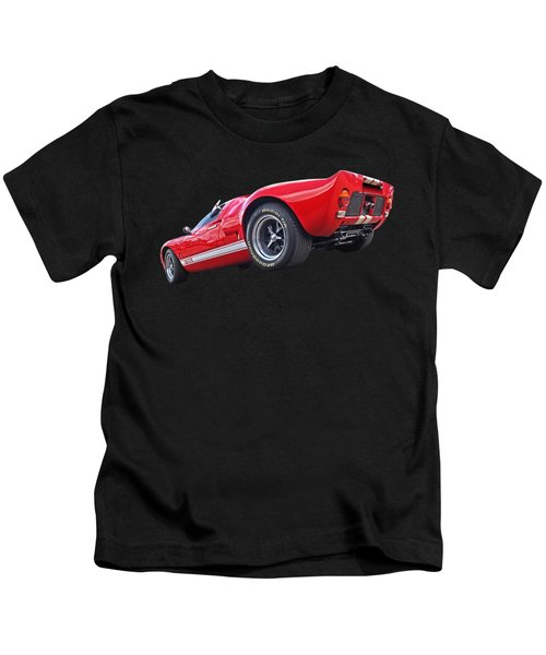 Red Hot Ford Gt 40 Kids T-Shirt