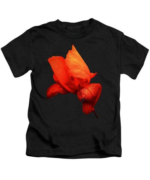 Red Iris Kids T-Shirt