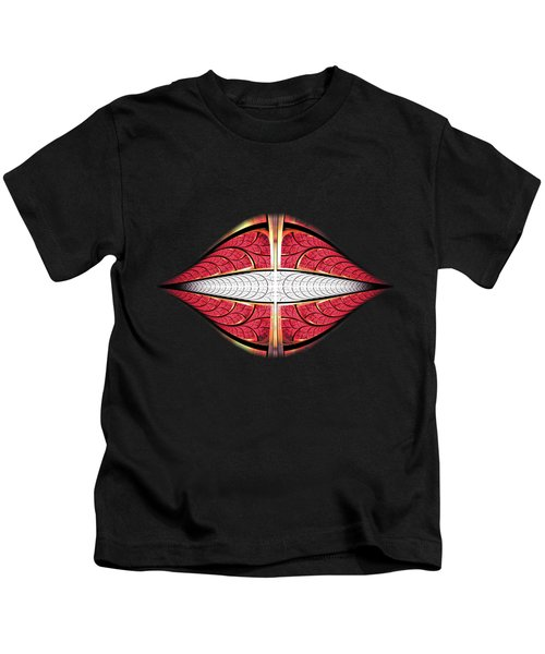 Red Lips Kids T-Shirt