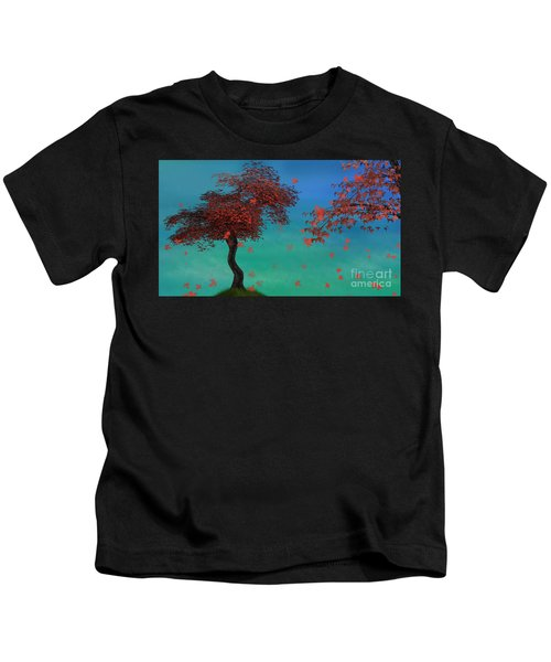 Red Maples Kids T-Shirt