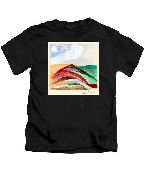 Red Mountain Dawn Kids T-Shirt
